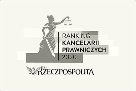 Artykuł: Awards for SPCG in the latest law firms ranking of the Rzeczpospolita daily